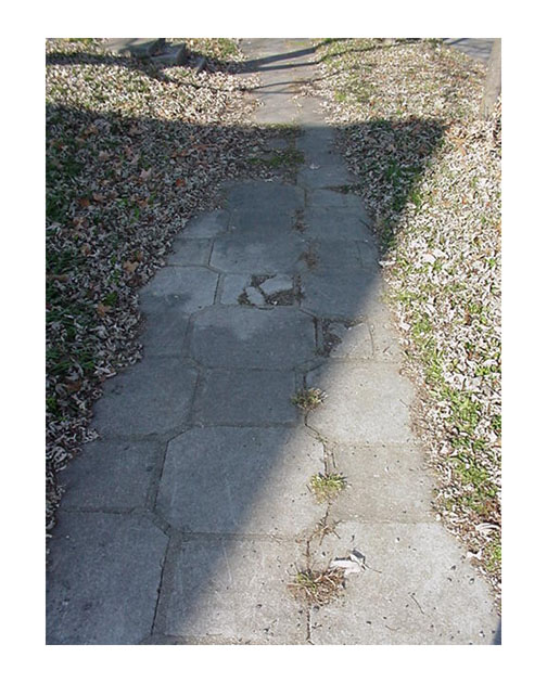 Historic Sidewalk Restoration - Prospect Hill